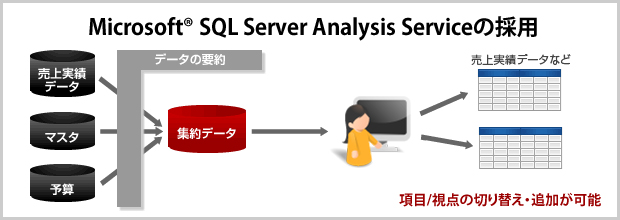 Microsoft SQL Server Analysis Serviceの採用