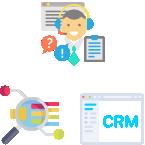 顧客情報・業務情報の見える化