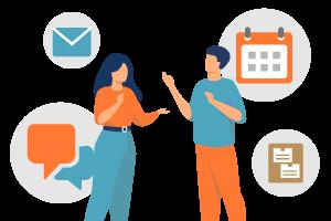 組織内の情報共有効率化